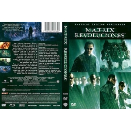 MATRIX-REVOLUCIONES DVD