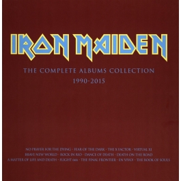 IRON MAIDEN-THE COMPLETE ALBUMS COLLECTION 90-15 VINYL BOX SET