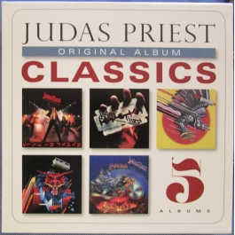 JUDAS PRIEST-CLASSICS ORIGINAL ALBUM CD