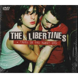 THE LIBERTINES-THE LIBERTINES BOYS IN THE BAND CD/DVD
