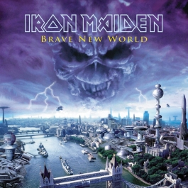 IRON MAIDEN-BRAVE NEW WORLD VINYL