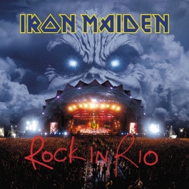 IRON MAIDEN-ROCK IN RIO VINYL