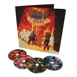KISS-ROCKS VEGAS NEVADA BOX SET