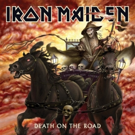 IRON MAIDEN-DEATH ON THE ROAD VINYL