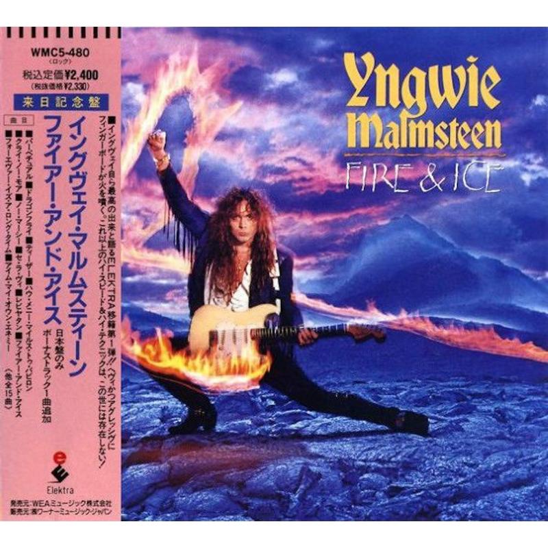YNGWIE MALMSTEEN-FIRE AND ICE CD