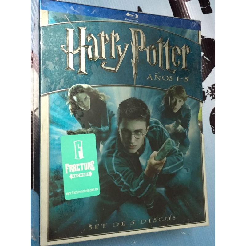 HARRY POTTER- AÑOS 1-5 BLU RAY