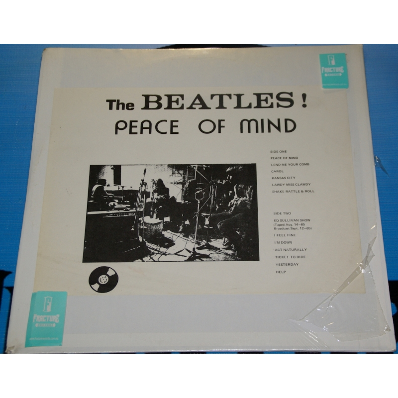 THE BEATLES-PEACE OF MIND VINYL