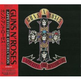 GUNS AND ROSES-APPETITE FOR DESTRUCTION CD