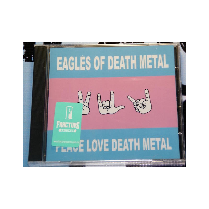 EAGLES OF DEATH METAL-PEACE LOVE DEATH METAL CD