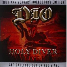 DIO-HOLY DIVER LIVE VINYL
