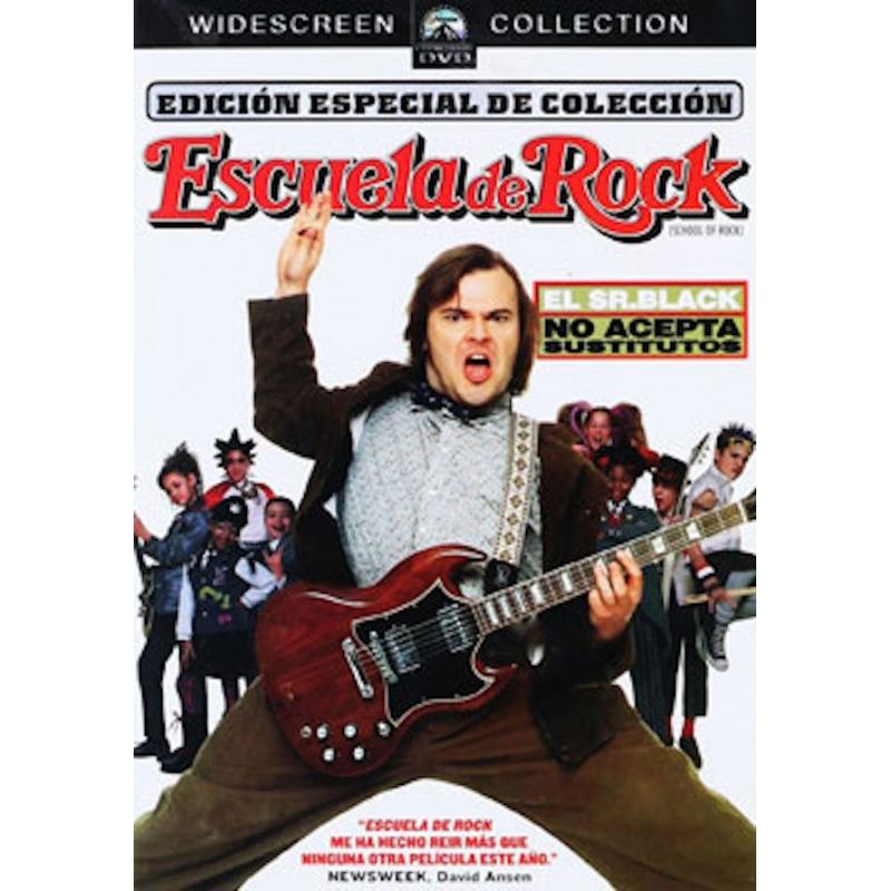 ESCUELA DE ROCK-DVD