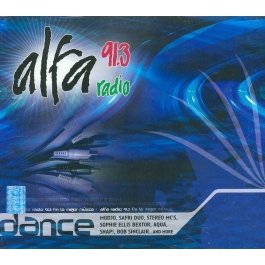 ALFA 91.3 RADIO-DANCE VARIOUS CD