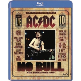 AC/DC-NO BULL THE DIRECTORS CUT BLU-RAY