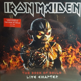 IRON MAIDEN-THE BOOK OF SOULS: LIVE CHAPTER VINYL