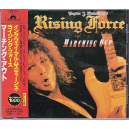 YNGWIE J. MALMSTEEN'S RISING FORCE-MARCHING OUT CD
