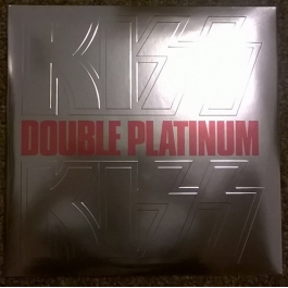 KISS-DOUBLE PLATINUM VINYL