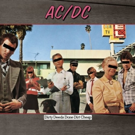 AC/DC-DIRTY DEEDS DONE DIRT CHEAP VINYL
