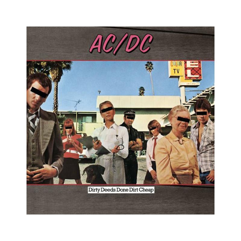AC/DC-DIRTY DEEDS DONE DIRT CHEAP VINYL