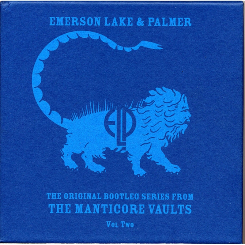EMERSON, LAKE & PALMER-THE ORIGINAL BOOTLEG SERIES VOL TWO CD