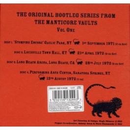 EMERSON, LAKE & PALMER-THE ORIGINAL BOOTLEG SERIES VOL ONE CD
