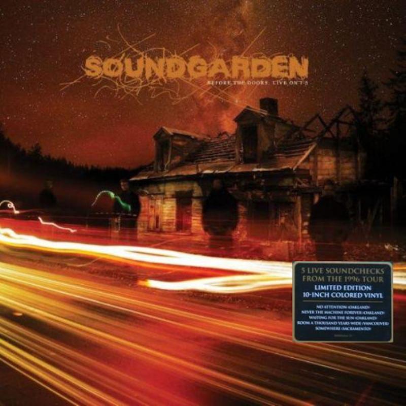 SOUNDGARDEN-BEFORE THE DOORS LIVE 1-5 VINYL