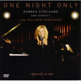 BARBRA STREISAND-ONE NIGHT ONLY CD/DVD