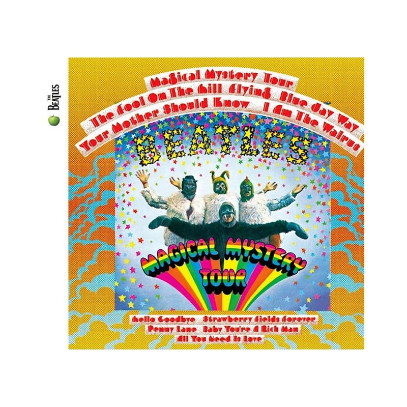 THE BEATLES-MAGICAL MYSTERY TOUR CD