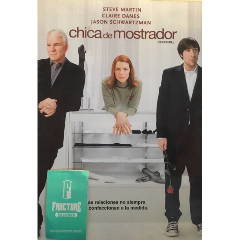 CHICA DE MOSTRADOR DVD