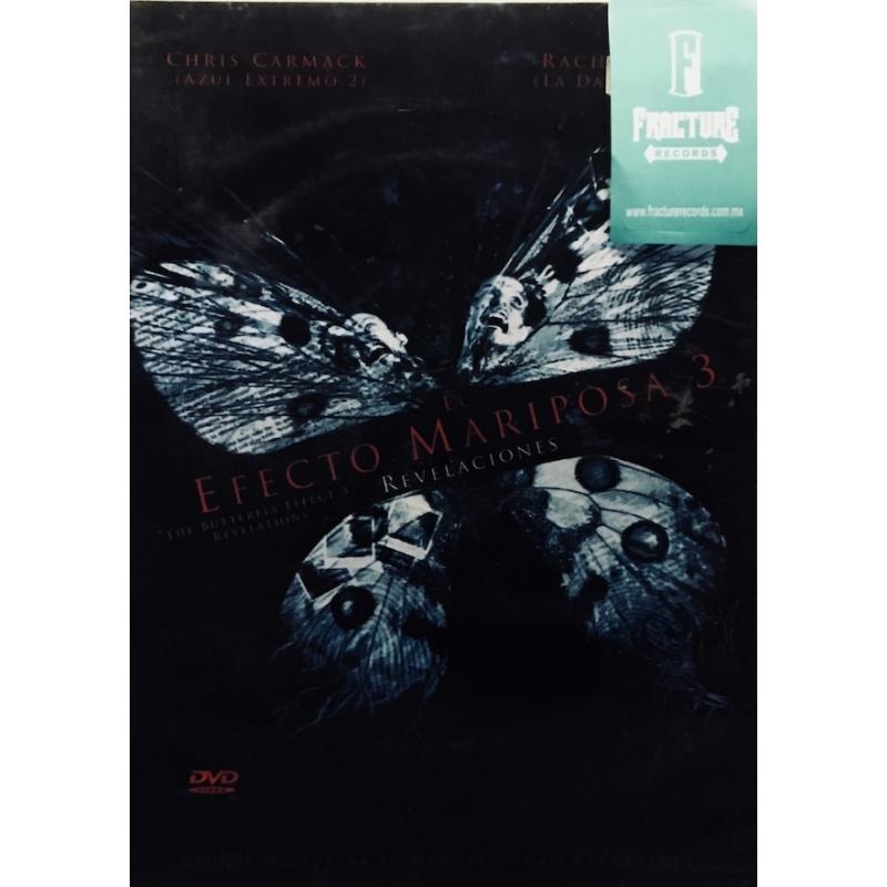 EFECTO MARIPOSA 3-REVELACIONES DVD