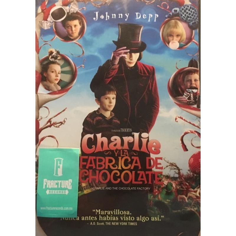 CHARLIE Y LA FABRICA DE CHOCOLATE DVD