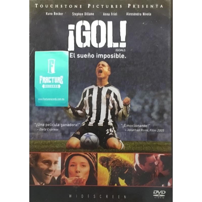 ¡GOL! EL SUEÑO IMPOSIBLE DVD