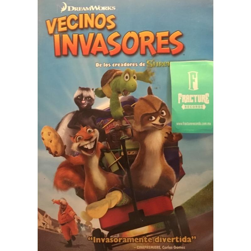 VECINOS INVASORES DVD