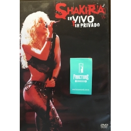 SHAKIRA EN VIVO Y EN PRIVADO DVD