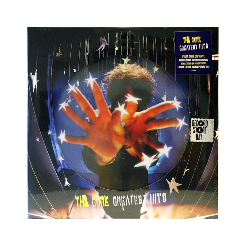 THE CURE-GREATEST HITS VINYL