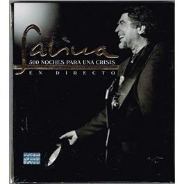 JOAQUÍN SABINA-500 NOCHES PARA UNA CRISIS CD/DVD