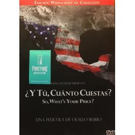 ¿Y TÚ, CUÁNTO CUESTAS?-OLALLO RUBIO DVD