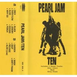 PEARL JAM-TEN CASSETTE