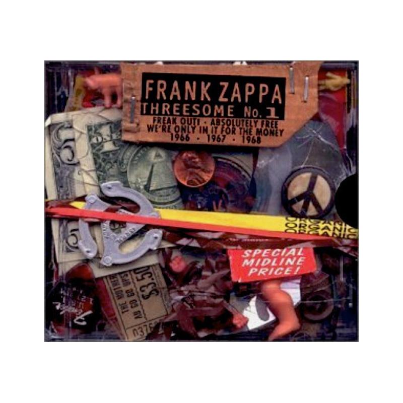 FRANK ZAPPA-THREESOME No. 1 BOX SET