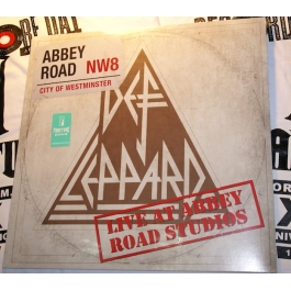 DEF LEPPARD-LIVE AT ABBEY ROAD STUDIOS VINYL