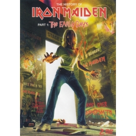 IRON MAIDEN-THE EARLY DAYS PART 1 DVD