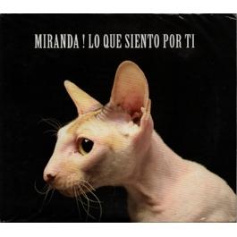 MIRANDA-LO QUE SIENTO POR TI CD/DVD