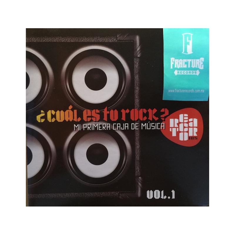 ¿CUÁL ES TU ROCK?-MI PRIMERA CAJA DE MÚSICA VOL. 1 CD