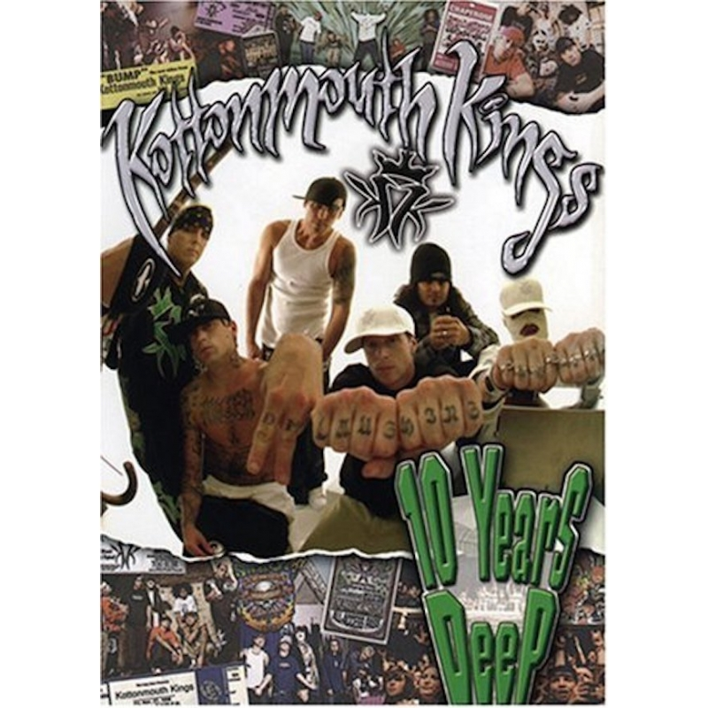 KOTTONMOUTH KINGS-10 YEARS DEEP DVD