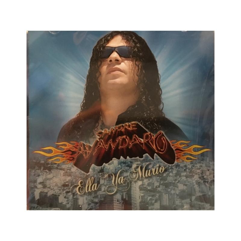 SANGRE AVANDARO-ELLA YA MURIÓ CD