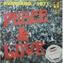 AVANDARO 1971-PEACE & LOVE CD