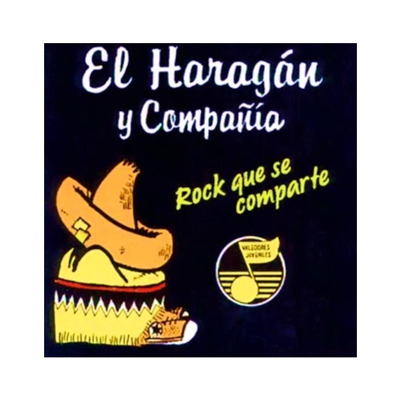 EL HARAGÁN Y COMPAÑÍA-ROCK QUE SE COMPARTE CD