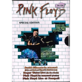 PINK FLOYD-SPECIAL EDITION 4 DVD'S