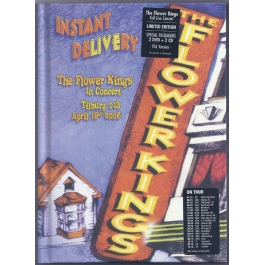 THE FLOWER KINGS-INSTANT DELIVERY CD/DVD