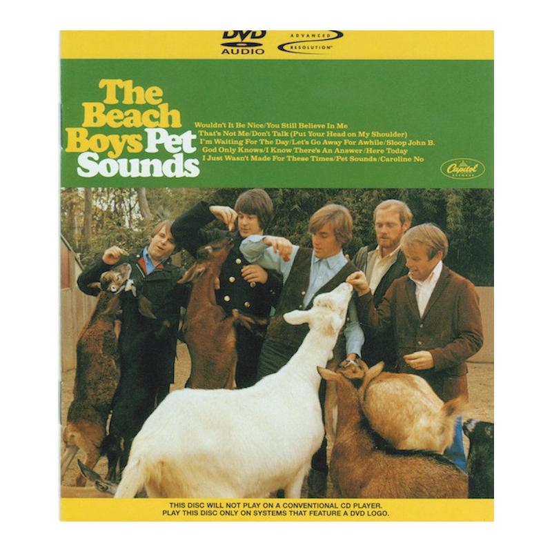 THE BEACH BOYS-PET SOUNDS DVD-AUDIO