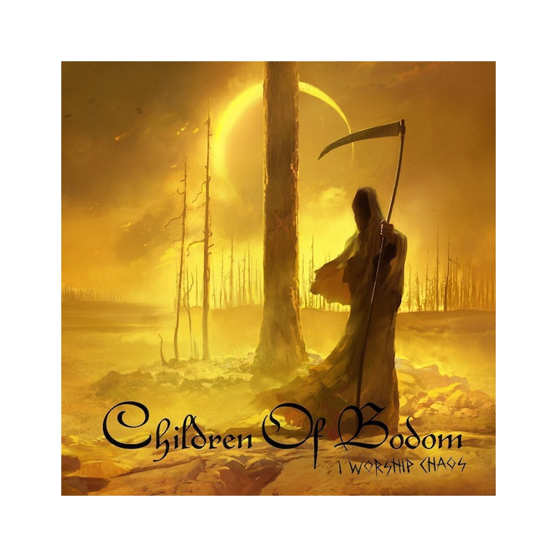 CHILDREN OF BODOM-I WORSHIP CHAOS CD